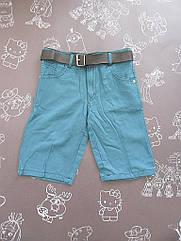 Детские шорты на мальчика 4-6 лет
