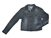 Піджак джинсовий жіночий р.S (укр.42) сірий DN57006 ТМORGNLFE