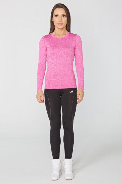 Спортивная женская кофта Radical Efficient SG розовый меланж, (Польша) лонгслив
