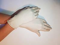 Белые латексные перчатки Polix PRO & MED (100 шт. / уп.)