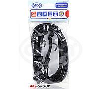 Эластичные ремни для крепления багажа с крюками 100 см (2шт) Transport Flex  Alcа 882 100 черный