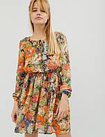 Женское шифоновое платье с резинкой на талии (Gio crd)
