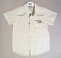 Детская рубашка с коротким рукавом для мальчиков 9-12 лет