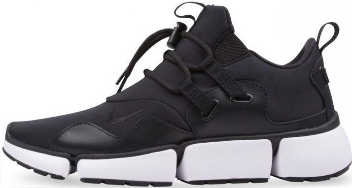 Мужские кроссовки Nike Pocket Knife DM (Найк) черно-белые