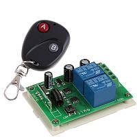 Устройство дистанционного управления электродвигателя с реверсом(ворот, ролеты, шлагбаума)  на 12 В