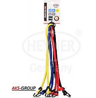 Эластичные ремни (паук) для крепления багажа с крюками  8 ног по 80 см  ElasticStar PRO Heyner 881 100