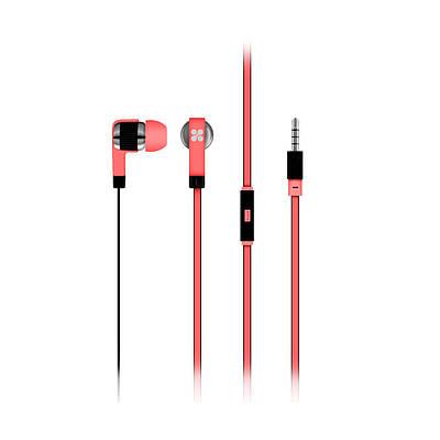 Проводные наушники Swish Pink
