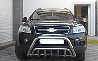 Кенгурятник Chevrolet Captiva  двойной