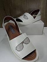 Белые женские босоножки EFA, фото 2