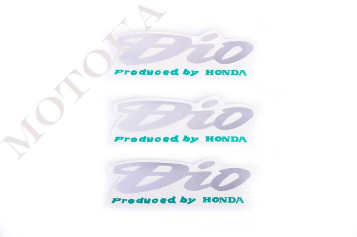 Наклейки (набор) Honda DIO (12х4см, 3шт) (#1160), фото 2