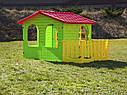 Домик для детей  с верандой марки Mochtoys, фото 3