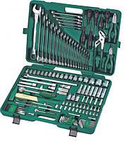 Универсальный набор инструментов, 128 предметов (S04H524128S) Jonnesway, фото 1