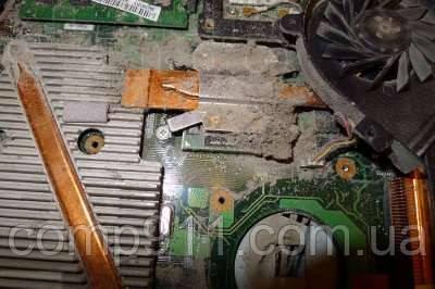 Последствия несвоевременной чистки ноутбука от пыли