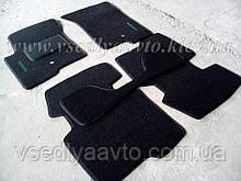 Ворсовые коврики в салон Dodge Caliber (Черные)