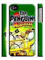 Чехол для iPhone 4/4s/5/5s/5с пингвины мадагаскара
