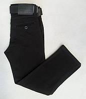 Детские школьные джинсы для мальчиков 11-15 лет черные