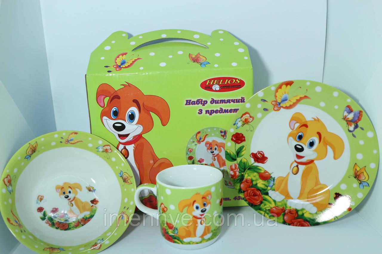 Оригинальный набор посуды на подарок ребенку
