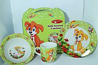 Оригинальный набор посуды на подарок ребенку, фото 1