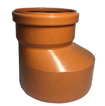 Редукція каналізаційна пвх 315*250