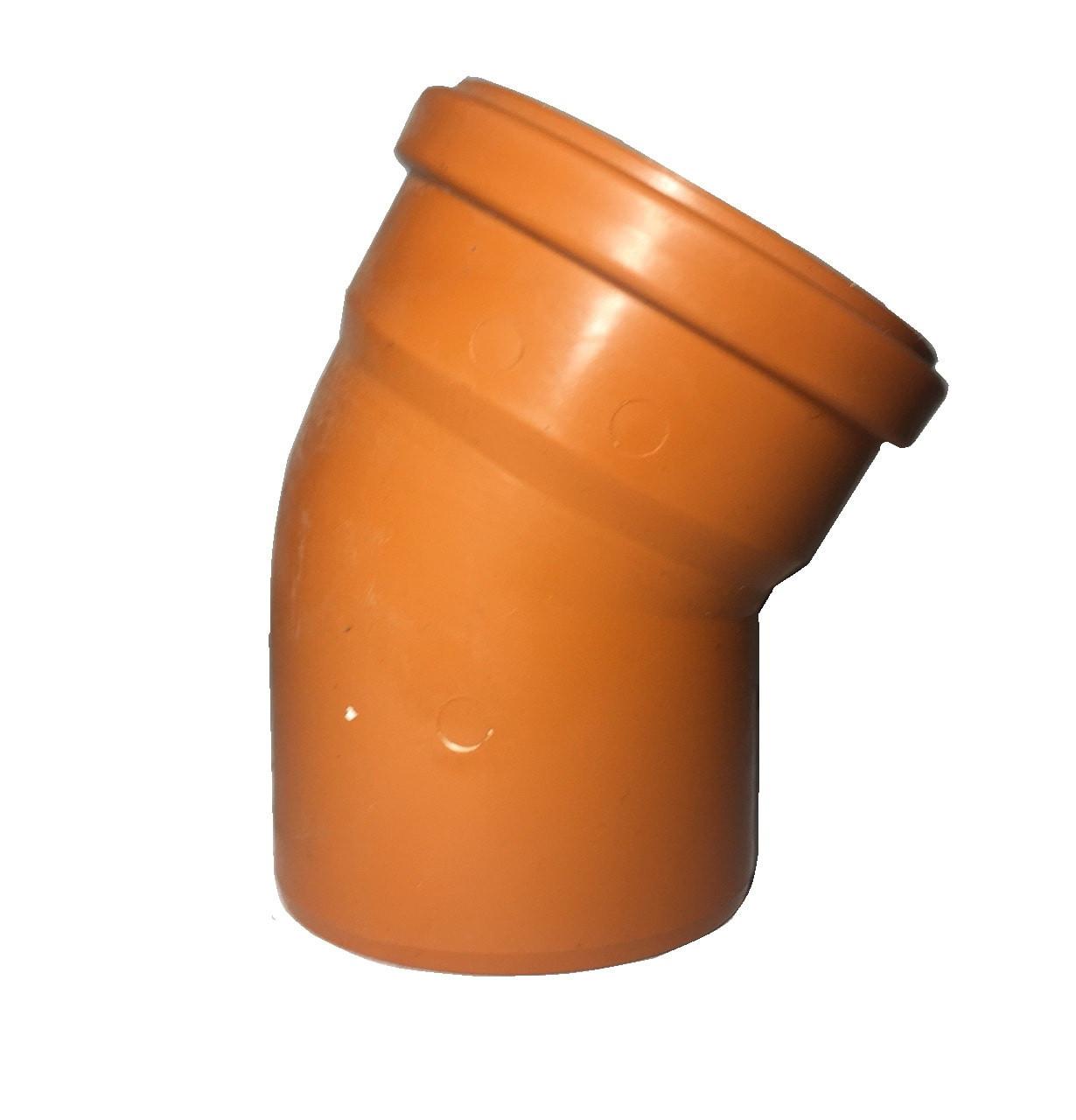 Отвод пвх для канализации 200*30