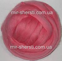 Шерсть для валяния - Розовый