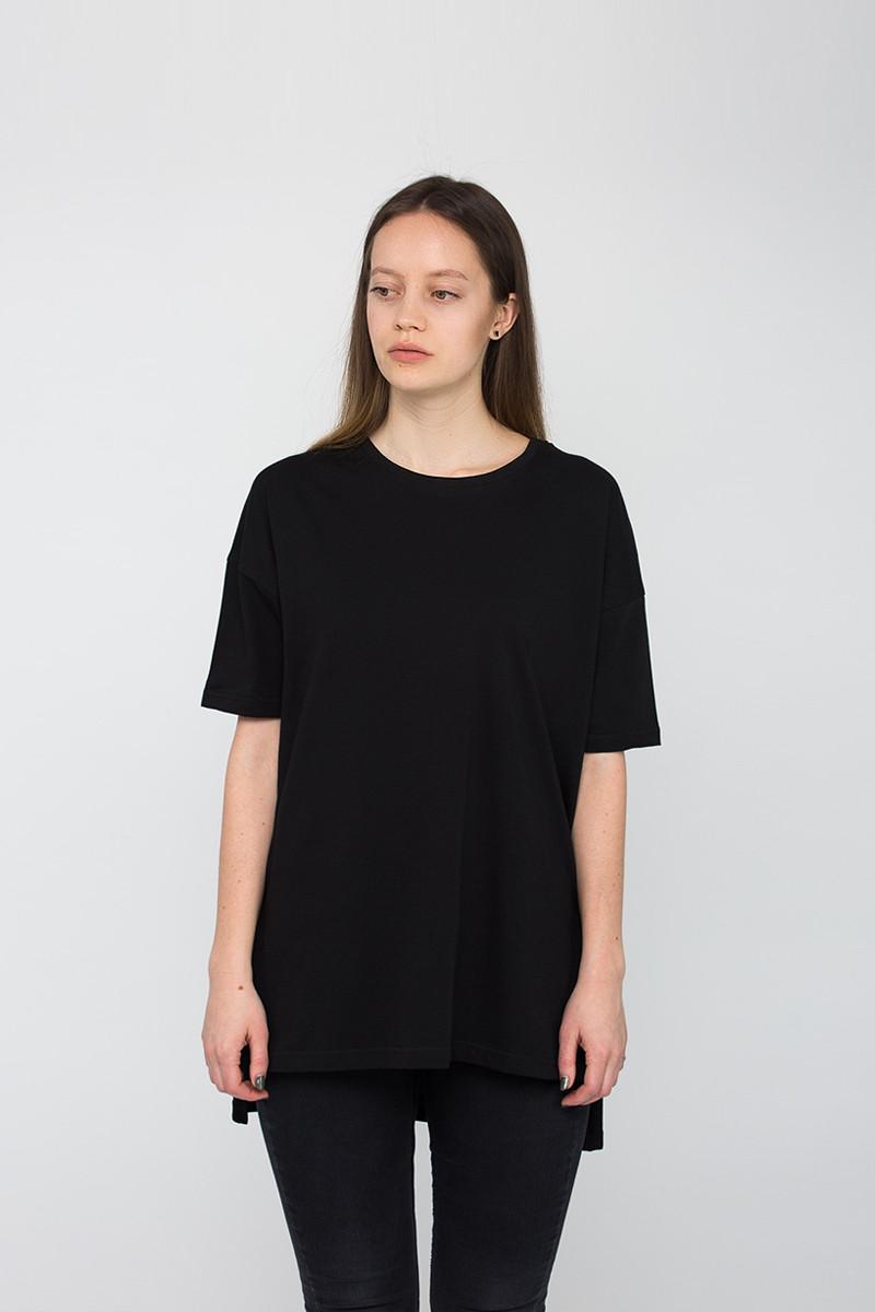 91195213048 Модная женская футболка OVER BLK T Urban Planet (футболки