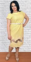 Платье для  полных  новинка Адель  размеров от 50 до 60
