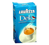 Молотый кофе Lavazza DEK без кофеина