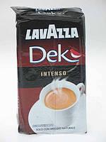 Кофе молотый Lavazza dek intenso без кофеина 250г, фото 1