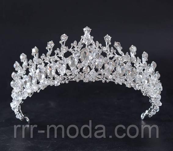 Бижутерия RRR свадебные короны оптом. Высокие короны.