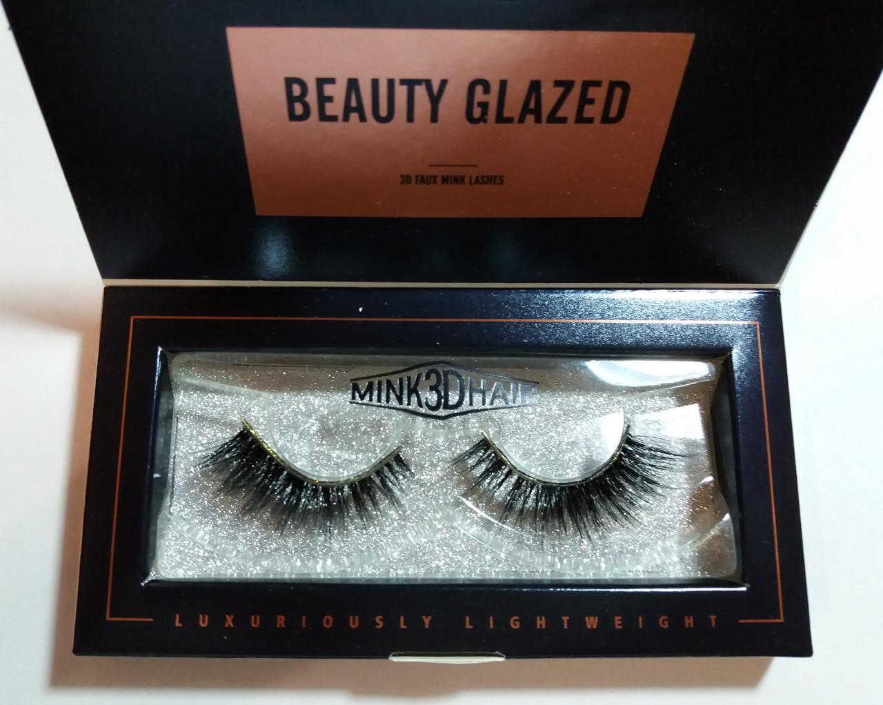 Реснички накладные Beauty Glazed 3D / 09A