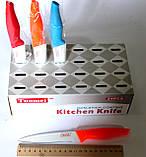 Нож нерж пластиковая ручка, фото 2