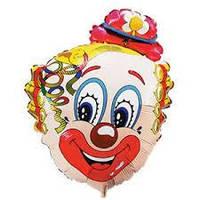 Шарик фольгированный минифигура Клоун