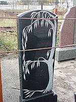 Пам'ятник одинарний  берізка/дубок