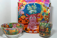 Подарочный набор посуды Лунтик, фото 1
