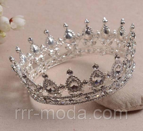 206 Короны и диадемы с кристаллами. Свадебные аксессуары оптом в Украине. -  Бижутерия оптом d3afcad6a34