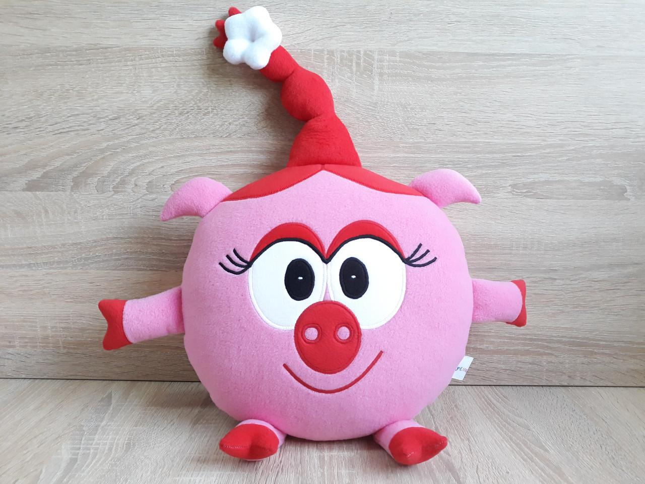 Мягкая игрушка - подушка ручной работы Смешарики Нюша