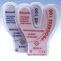 BK 54 артикуляционная бумага 50 листов красная подкова 100 мкм