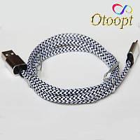 Usb кабель для iphone Серебряный, 1 метр