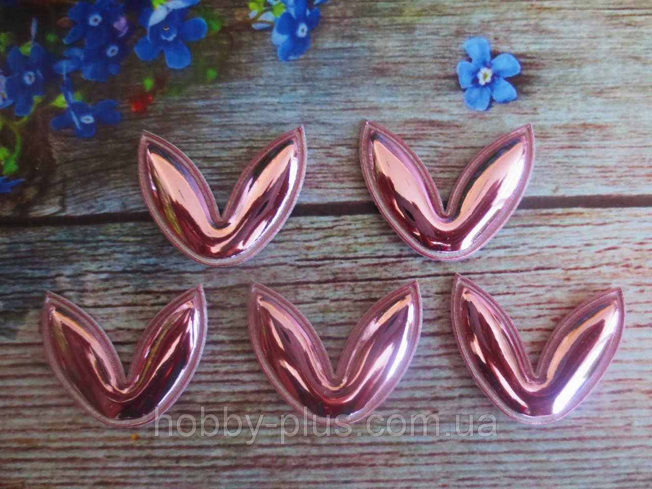 """Патчи """"Ушки"""", цвет розовый, 31х35 мм, 1 шт."""