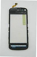 Сенсорный экран Nokia 5800 черный Н/С, фото 1