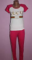 Женский трикотажный костюм с брюками GUCCI, фото 1