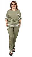 Женский костюм  большого размера 50-58р Luizza(Турция)