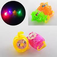 Фигурка 887A свет, 4 вида, резиновое кольцо, в кульке, 3-3-4,5см