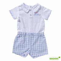 Комбинезон-шорты для мальчика, Girandola, Португалия, размеры 74, 86
