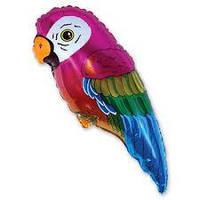 Шар воздушный фольгированный Попугай 9 дюймов