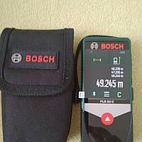 Лазерний далекомір,рулетка BOSCH PLR 50 C, фото 1
