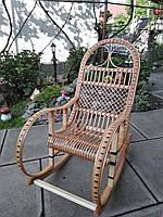 """Кресло-качалка """"Ротанг"""" бежевая, фото 1"""
