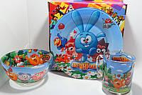 Стеклянная посуда Смешарики, фото 1