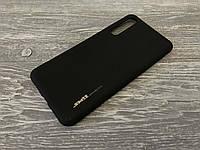 TPU чехол Smitt накладка бампер для Huawei P20 Pro черный